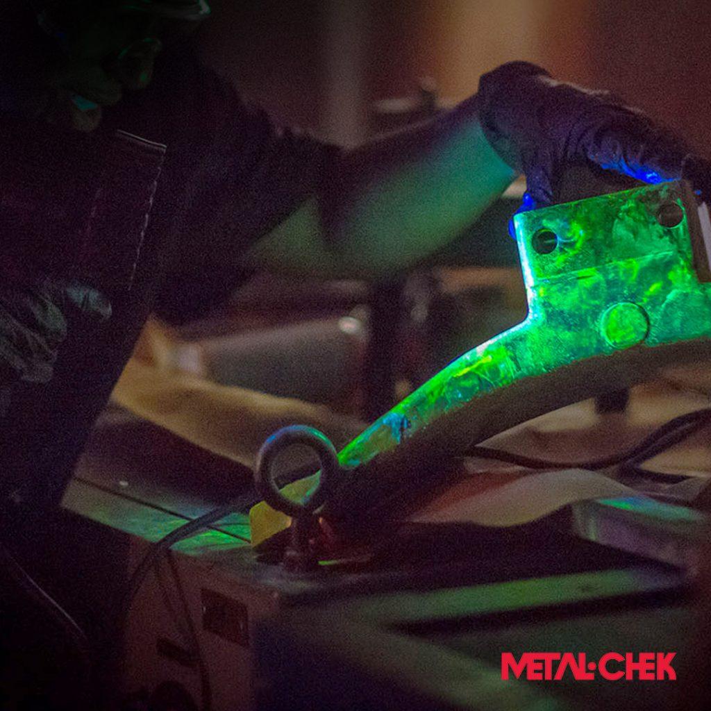 Ensaio não destrutivo Metal-Chek